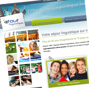 Capture d'écran Atout Linguistique