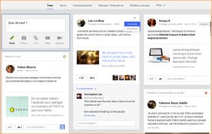Timeline GooglePlus