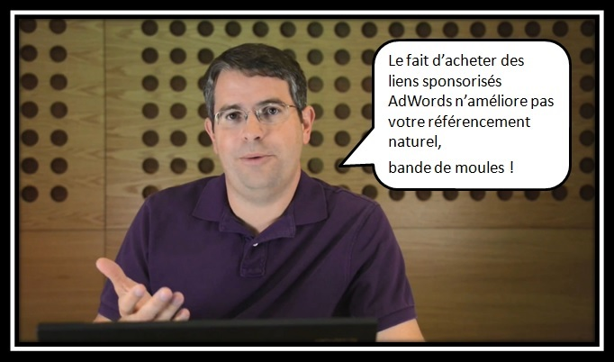 Matt Cutts - Impact du SEA sur le SEO