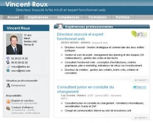 Modele cv nouvelle generation document online for Tendance creation entreprise