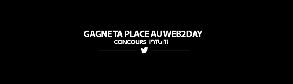 Concours web2day Intuiti