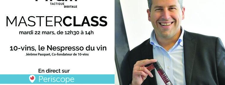 MasterClass Jerôme Pasquet
