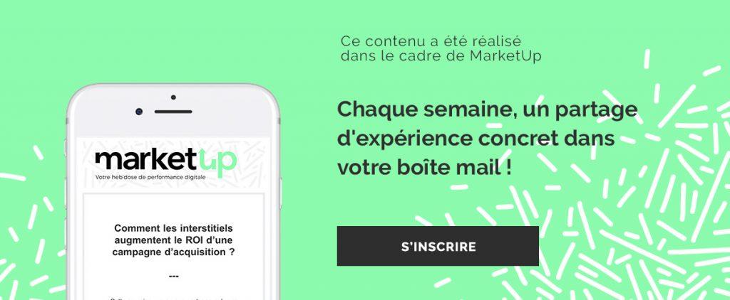 MarketUp newsletter