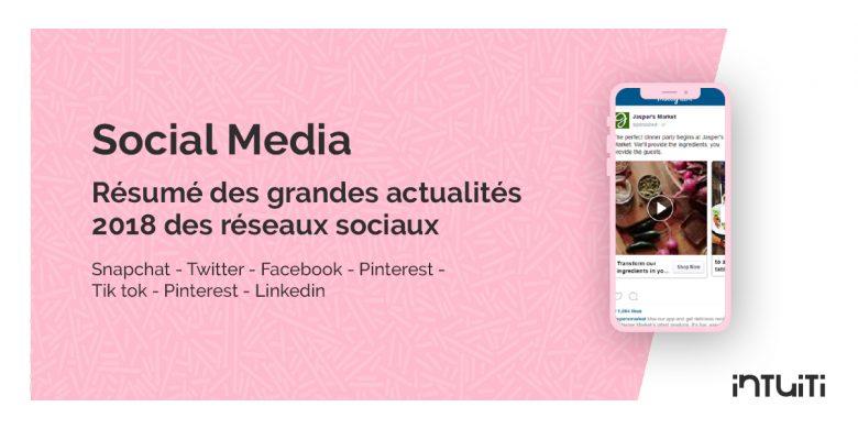 Social Media actualités