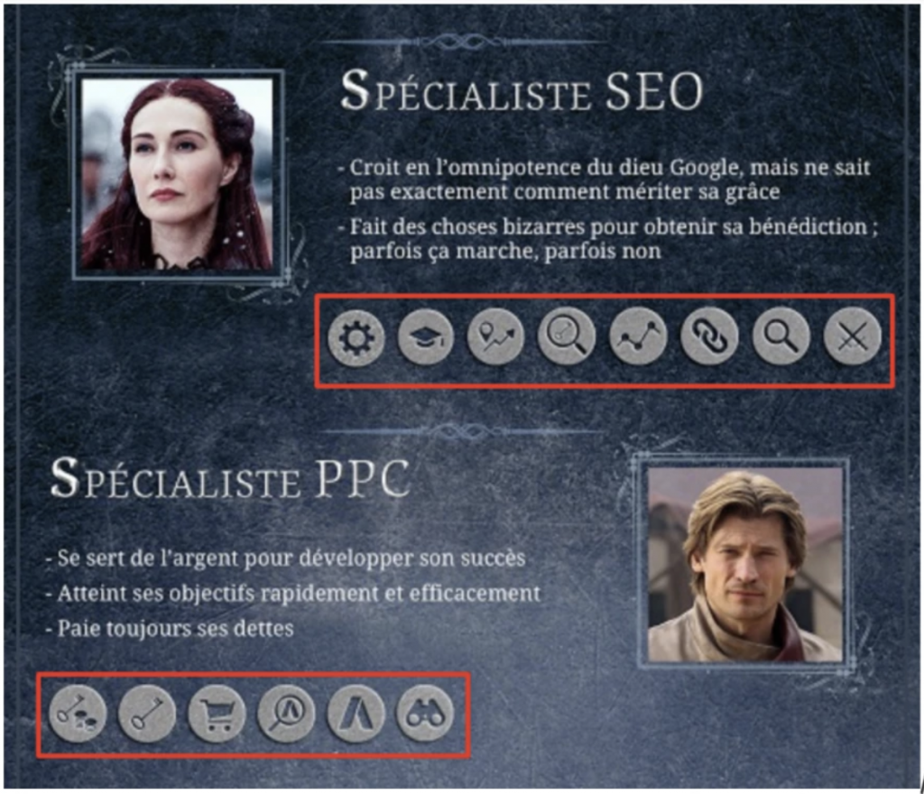 Infographie SEMrush Game oh Thrones