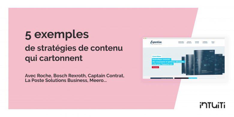 5 stratégies de contenu